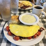 They have an awesome breakfast menu with lots to choose from in a great atmosphere!