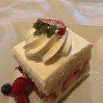 Fraisier (White cake with Strawberries & Cream)