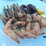Seafood mix for 3 people