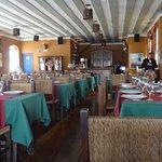 Salão do restaurante Casa do Ouvidor