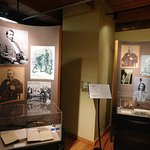 Grant and Native Americans display
