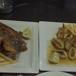 Yummy Fired Fish & Grilled Calamari