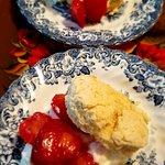 Strawberry-Whipped Cream Scones