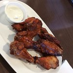 Smoked wings.  8 pieces per order