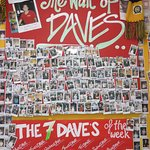 "Part of ""The Wall of Daves"""