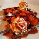 Waffle de Morangos