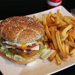 Burger Fish Fries Fait Maison