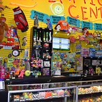 The redemption center has lots of choices and fun things you wont find in the store!!