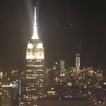 Empire State Building View from the Rainbow Room