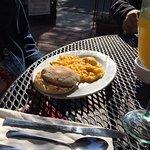 Diet? OK, here's breakfast on the lighter side too.