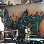 """Patio Mural """"Seal Team Reunion"""""""