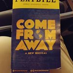 Come From Away Playbill