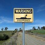 Beware steep edges
