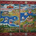 A modern tapestry at the fort