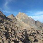 Mount Kenya in the Morning