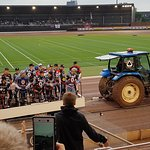 The National Speedway Stadium, Belle Vue, riders' introduction