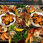 A guest asked for a seafood platter for 6. Photo by Shelley Liddle.