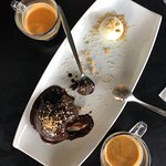 Had to come back to Lehem Basar. We HAD to have the eggplant again and the hot chocolate cake.