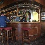Lovely trad bar.