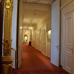Hallway on our floor at Hotel Bristol