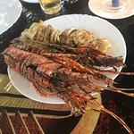 Bilde fra Willy's Blue tent seafood restaurant