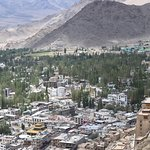 Leh Palace seen from Top of Hill