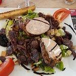 salade cous de canard