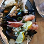 Awesome shellfish, this place is divine , great staff and atmosphere, really recommend this !