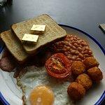 Smaller traditional breakfast