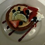 Key Lime Tart with Fresh Berries