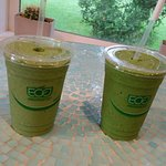 Detox smoothie is our favorite!