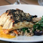 roasted striped bass