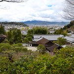 Kyoto city views from the garden heights