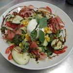 Salade italienne... Rafraîchissante...