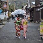 The road to Ginkaku-ji