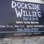 Sign On Outside Of Restaurant.