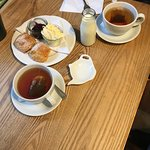 Scones at Charlie's, Tintagel