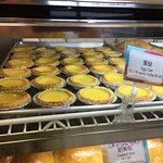 Their egg tarts are the best!