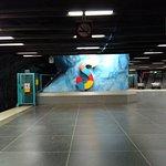 Фотография Экскурсии по станциям метро Стокгольма для любителей искусства