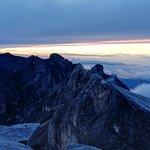 Sunrise at the summit of Mt Kinabalu