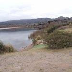 Vista al lago y la ciudad