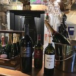 A selection of the wines on offer at the La Braseria
