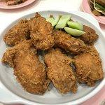 prawn paste chicken - not bad