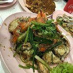 white pepper crab - not pretty to look at but the taste is out of this world