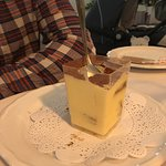 tiramisu in Italy - surely not ? and still frozen !