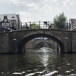 view on canal tour, Amsterdam