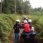 Petit arrêt dans la forêt de Labenne