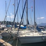 Foto de Corfu Sailing Club Restaurant