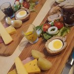 Ham & Cheese Ploughmans Lunch
