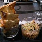 Les rillettes de crustacés du chef